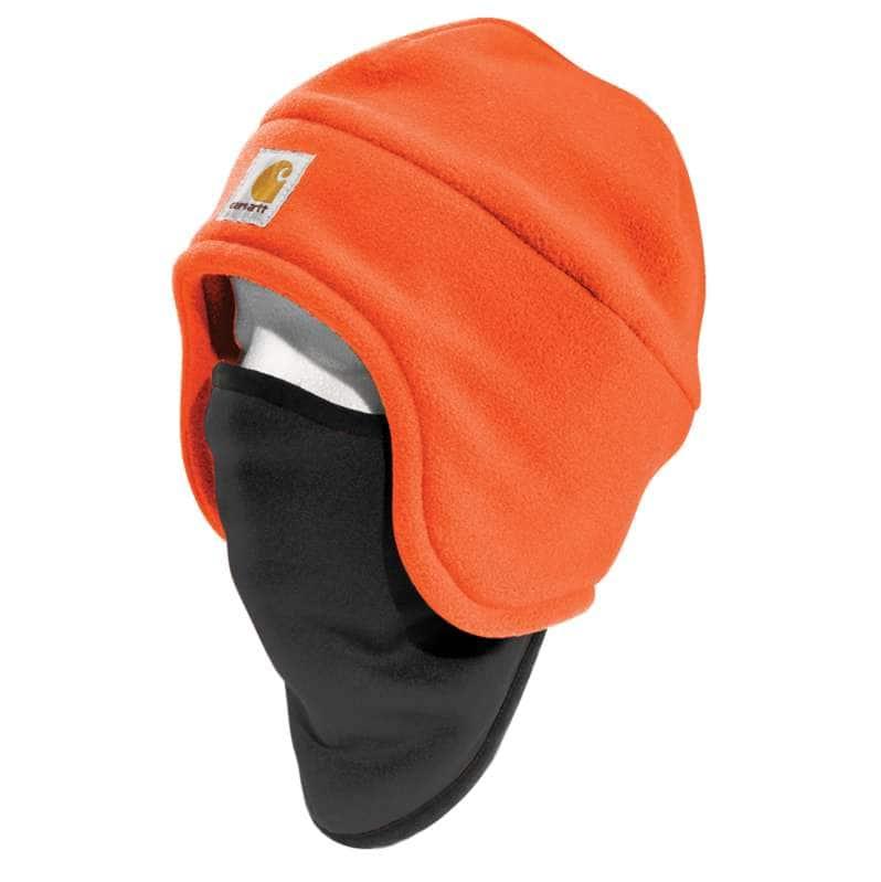 Carhartt  Brite Orange Fleece 2-In-1 Hat