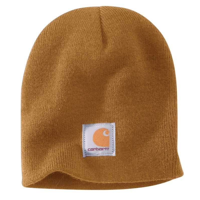 Carhartt  Carhartt Brown Knit Beanie