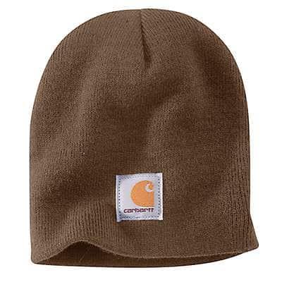 Carhartt Men's Canyon Brown Knit Beanie