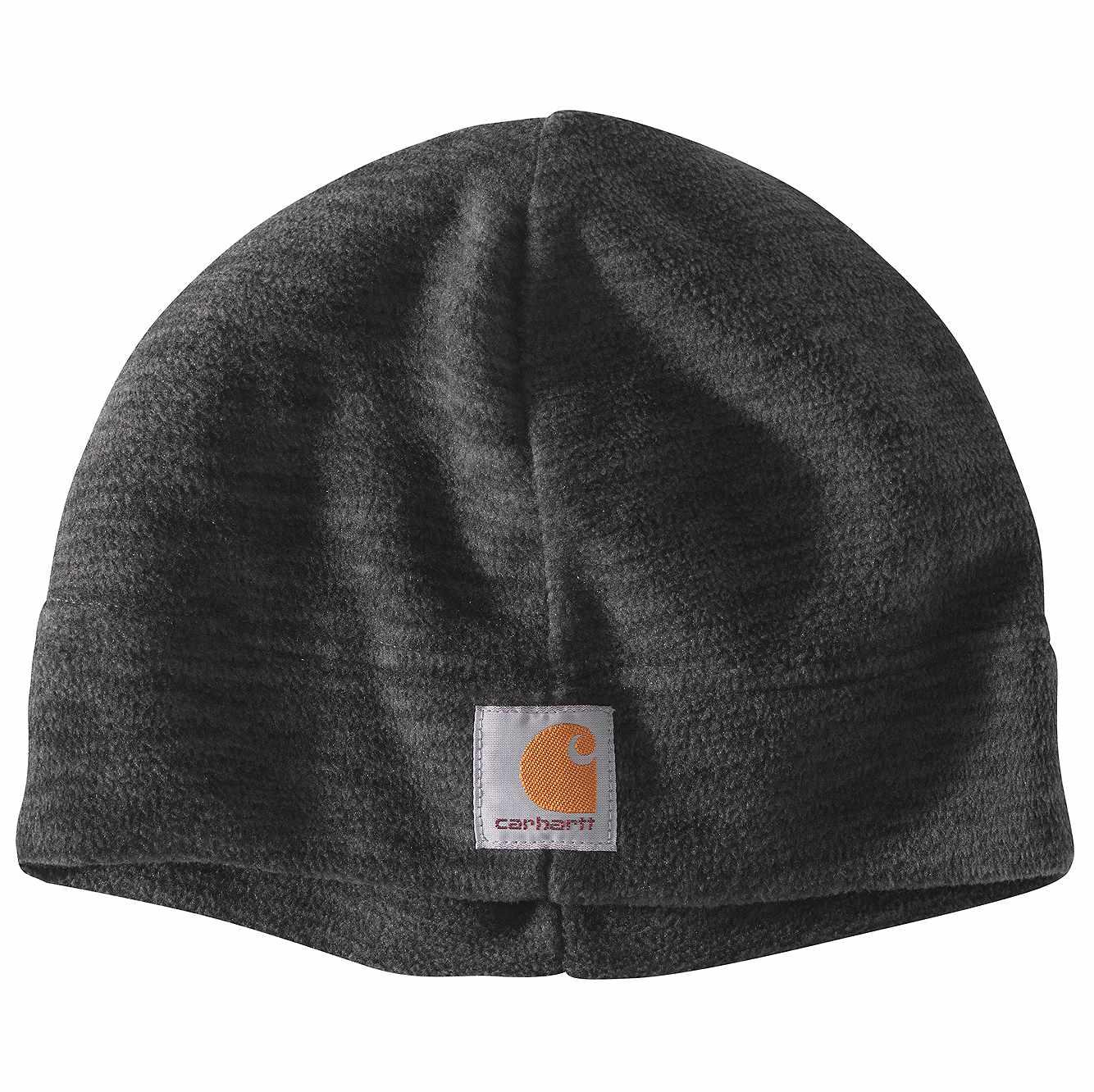 Picture of Fleece Hat in Black/Steel Space Dye
