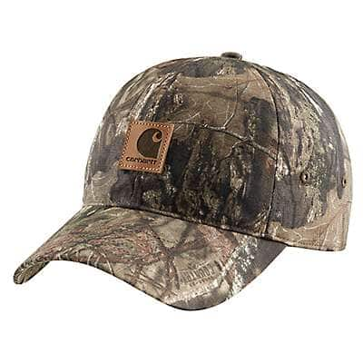 Carhartt Men's Mossy Oak Break-Up Country Camo Cap - front