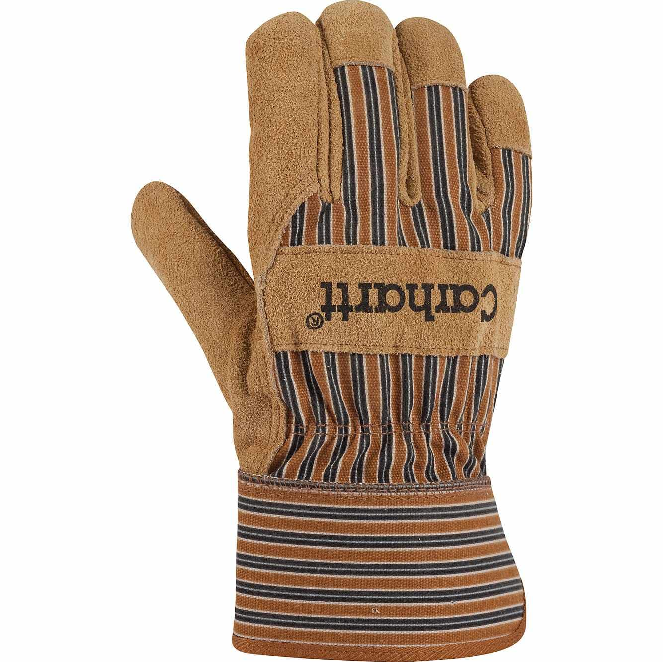 Picture of Insulated Suede Safety Cuff Work Glove in Carhartt Brown