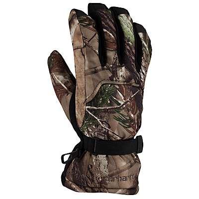 Carhartt Men's Realtree Xtra Gauntlet Camo Glove - front