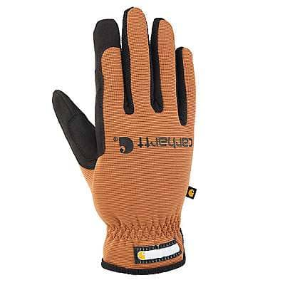 Carhartt Men's Carhartt Brown Work-Flex High Dexterity Glove - front