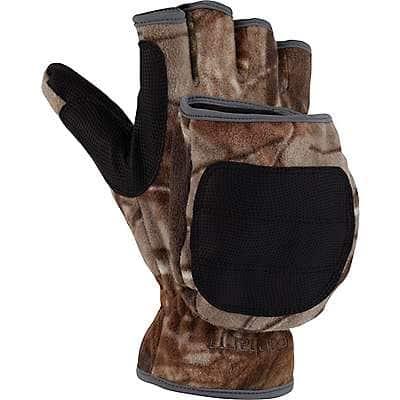 Carhartt Men's Realtree Xtra Flip-It Camo Glove/Mitt - front