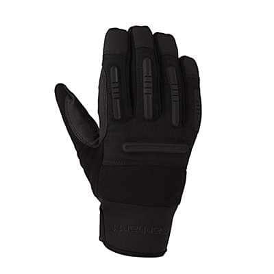 Carhartt Men's Black Winter Ballistic Glove - front