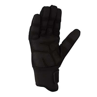 Carhartt Men's Black Winter Ballistic Glove - back