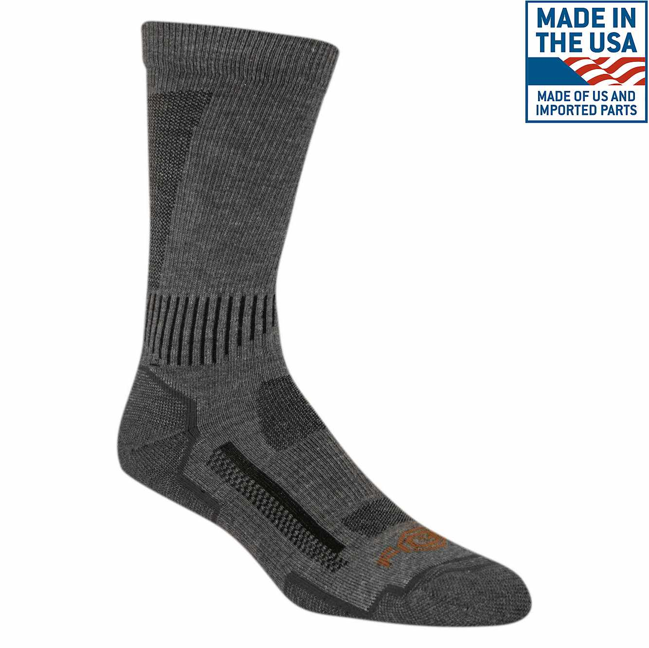 Picture of Carhartt Force® High-Performance Crew Sock in Charcoal Heather