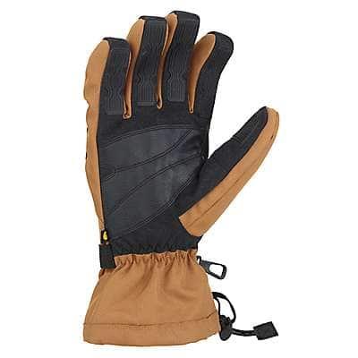 Carhartt Men's Black Dark Gray Pipeline Glove - back