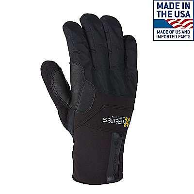 Carhartt Men's Black Bad Axe Glove - front