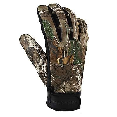 Carhartt Men's Camo A/P Grip Camo Glove - front