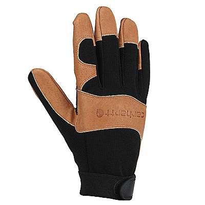 Carhartt Men's Black Barley The Dex II High Dexterity Glove - front