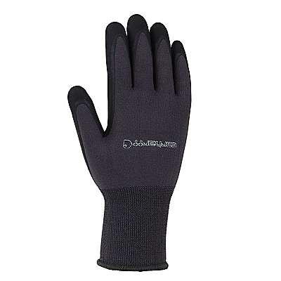 Carhartt Men's Gunmetal All-Purpose Nitrile Grip Glove - front