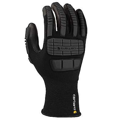 Carhartt Men's Black Impact Hybrid C-Grip® Glove - front