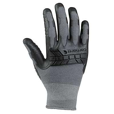 Carhartt Men's Gray Knuckler C-Grip® Glove - front