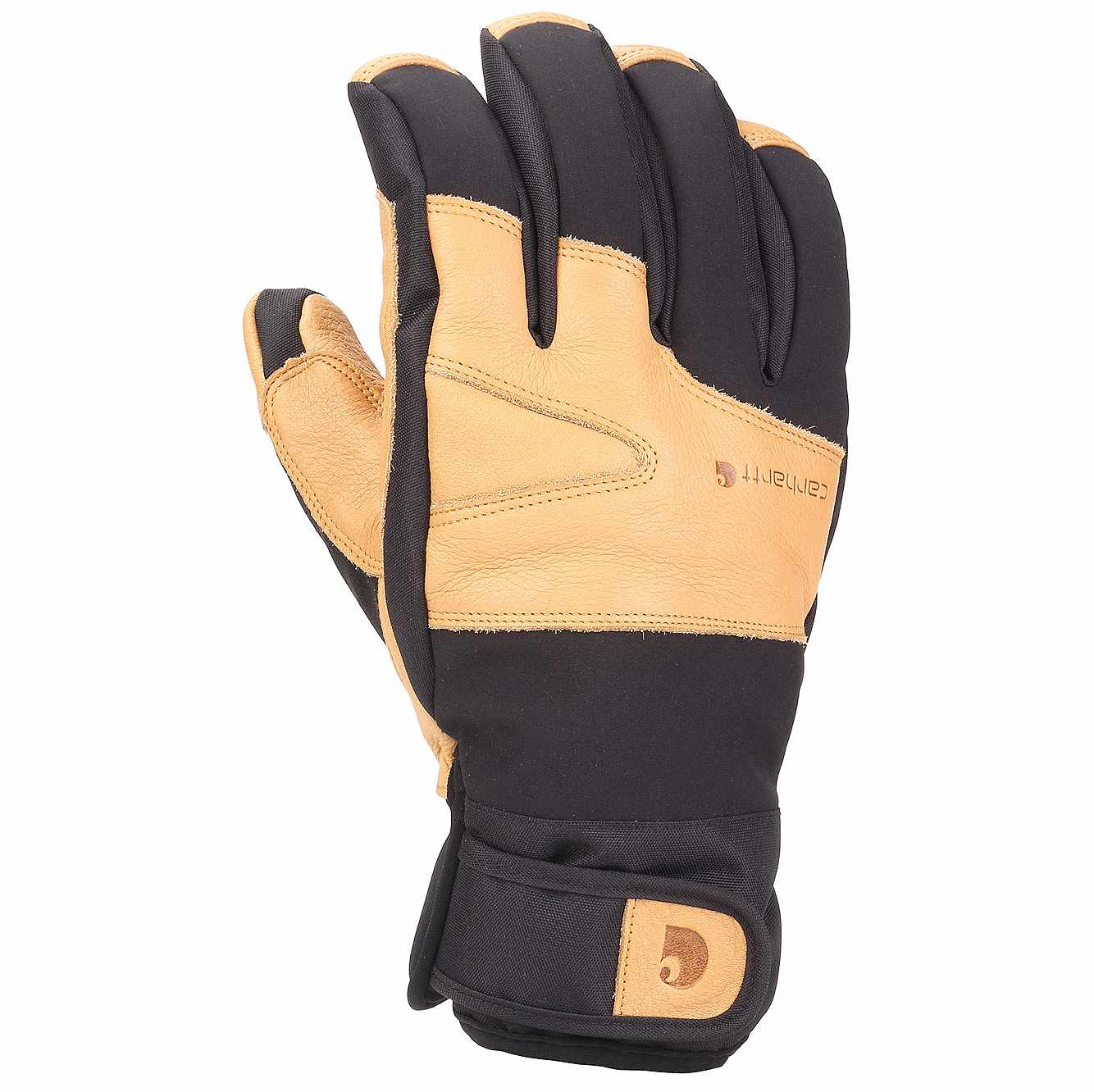 Picture of Winter Dex Cow Grain Insulated Glove in Black Brown