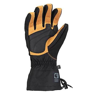 87c520d2eca2b ... Carhartt Men's Black Pipeline Insulated Glove - back