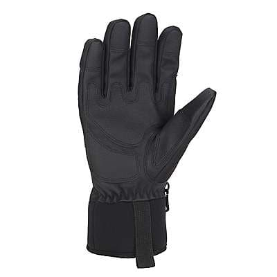 Carhartt Men's Black Brown Flexer Insulated Glove - back
