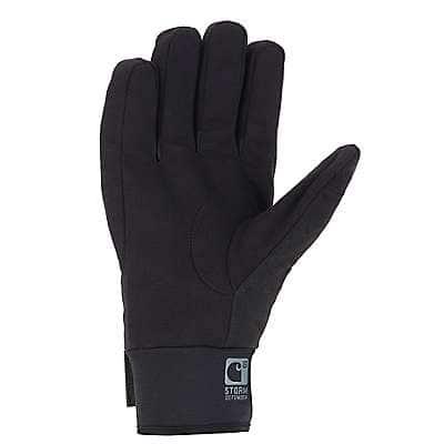 Carhartt Men's Black Barley Stoker Insulated Glove - back