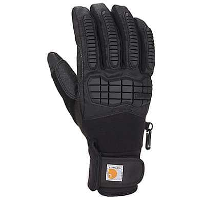 Carhartt Men's Black Winter Ballistic Insulated Glove - front