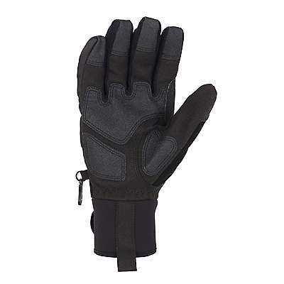 Carhartt Men's Black Winter Ballistic Insulated Glove - back