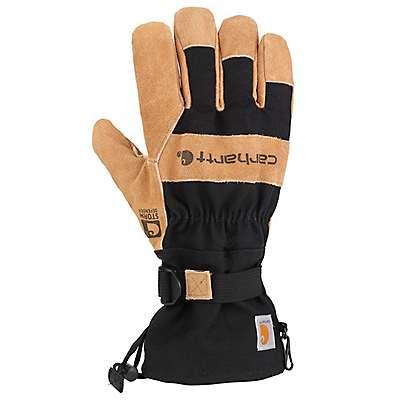 Carhartt Men's Black Storm Defender® Snowdrift Work Glove - front
