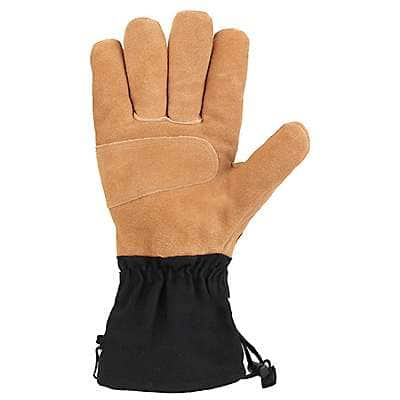 Carhartt Men's Black Storm Defender® Snowdrift Work Glove - back