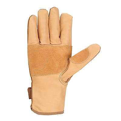 Carhartt Men's Brown Chore Master Work Glove - back