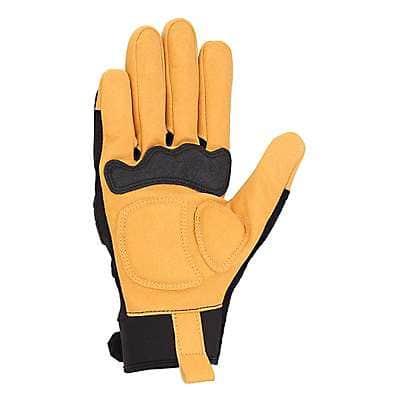 Carhartt Men's Black Barley Ballistic High Dexterity Glove - back