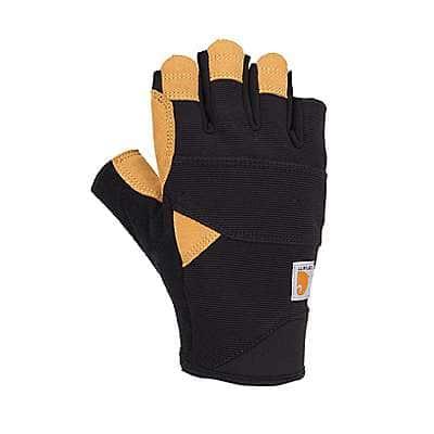 Carhartt Men's Black Barley Swift High Dexterity Glove - front