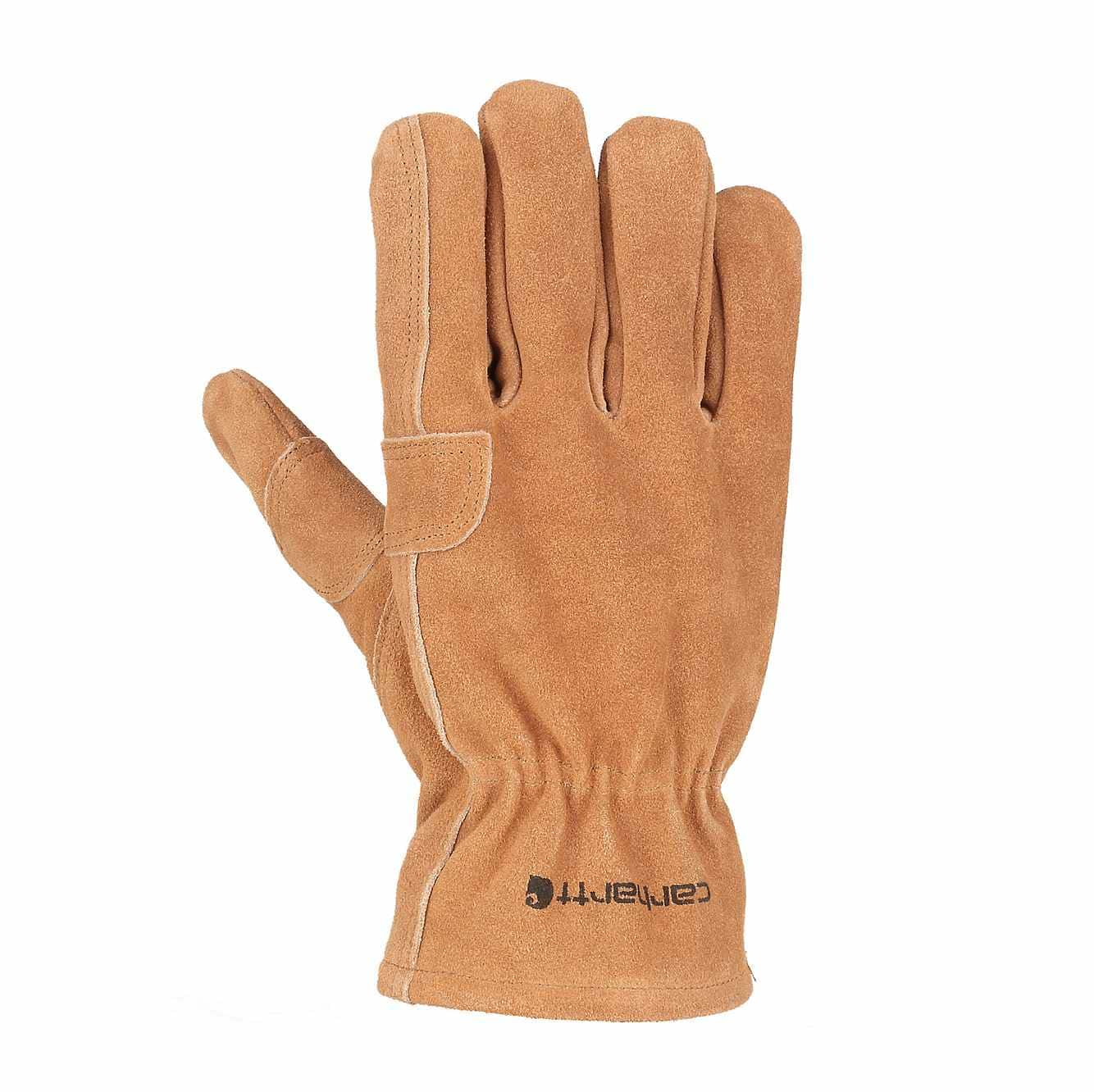 Picture of Pile Fencer Suede Work Glove in Carhartt Brown