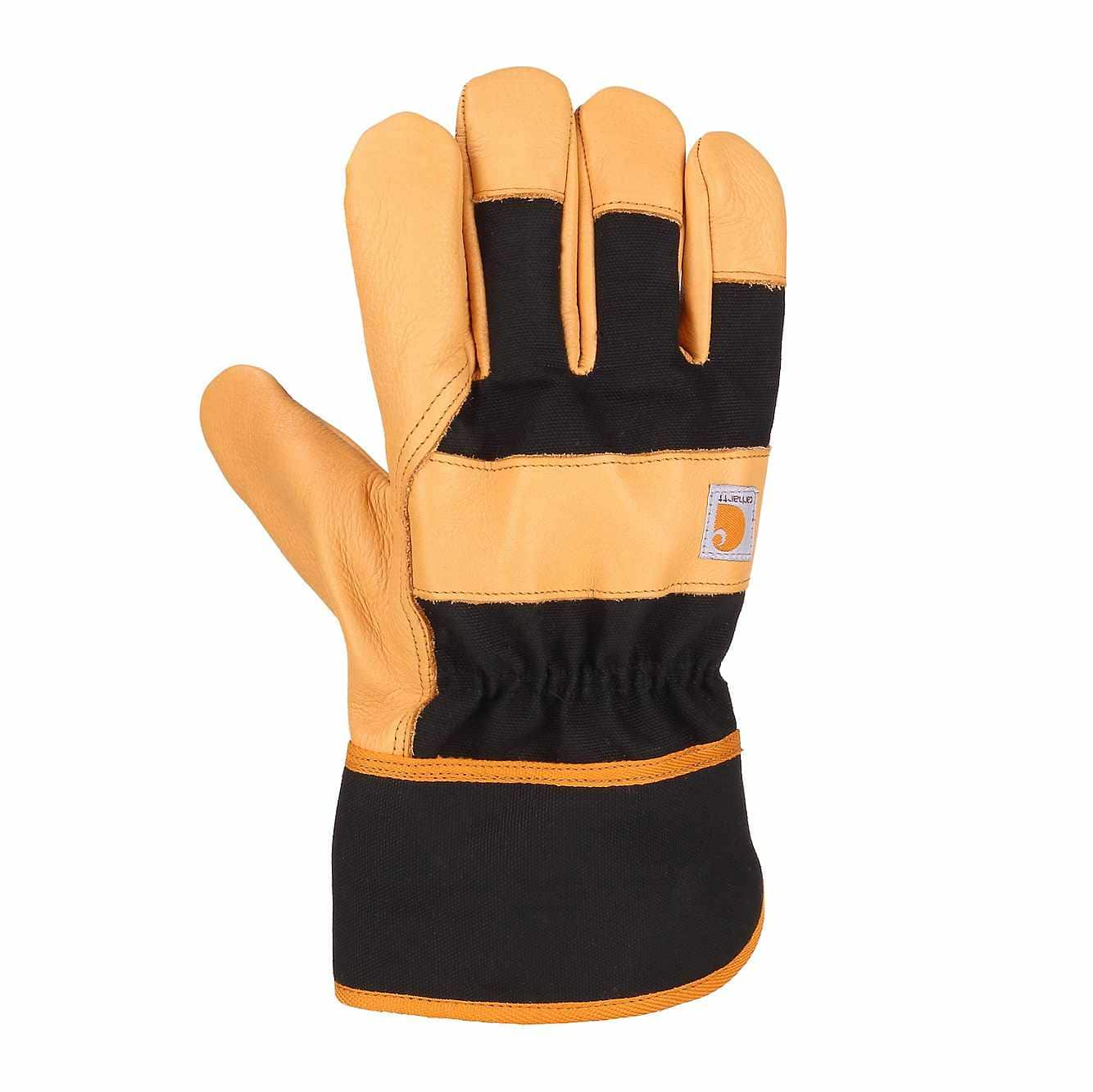 Picture of Insulated Safety Cuff Work Glove in Black/Tan