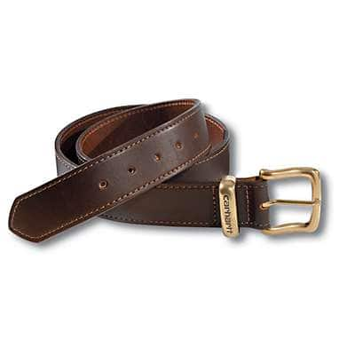 Carhartt Men's Carhartt Brown Jean Belt - front
