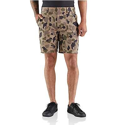 """Carhartt Men's CKH Hurley x Carhartt Men's Camo 19"""" Work Shorts - front"""