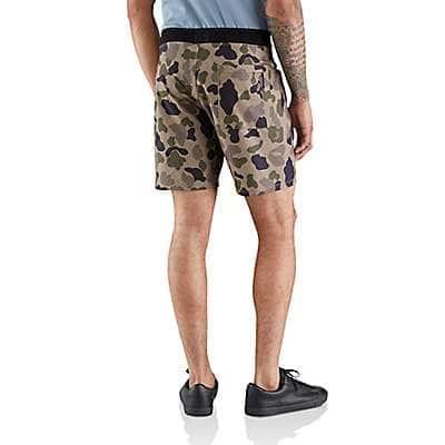 "Carhartt Men's Cargo Khaki HURLEY X CARHARTT HYPERWEAVE MEN'S 7"" BOARD SHORT - back"
