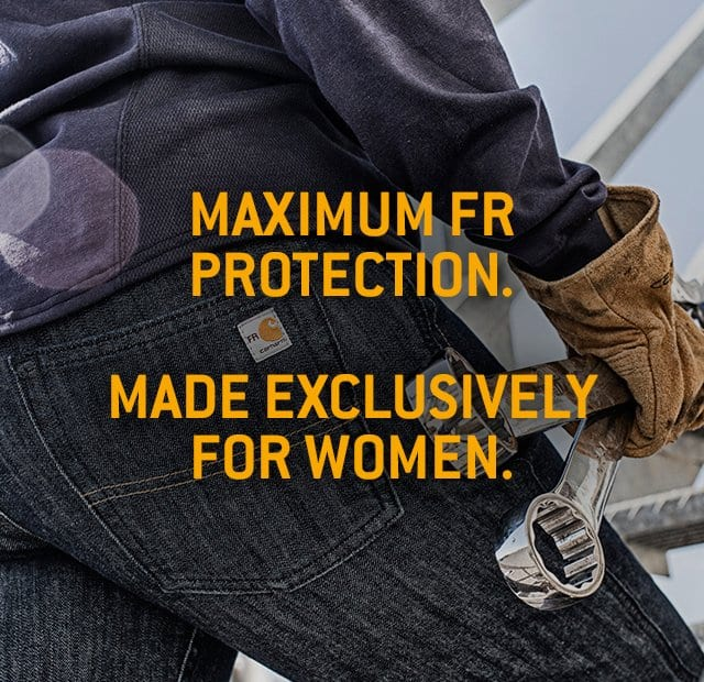 Maximum FR protection made exclusive for women