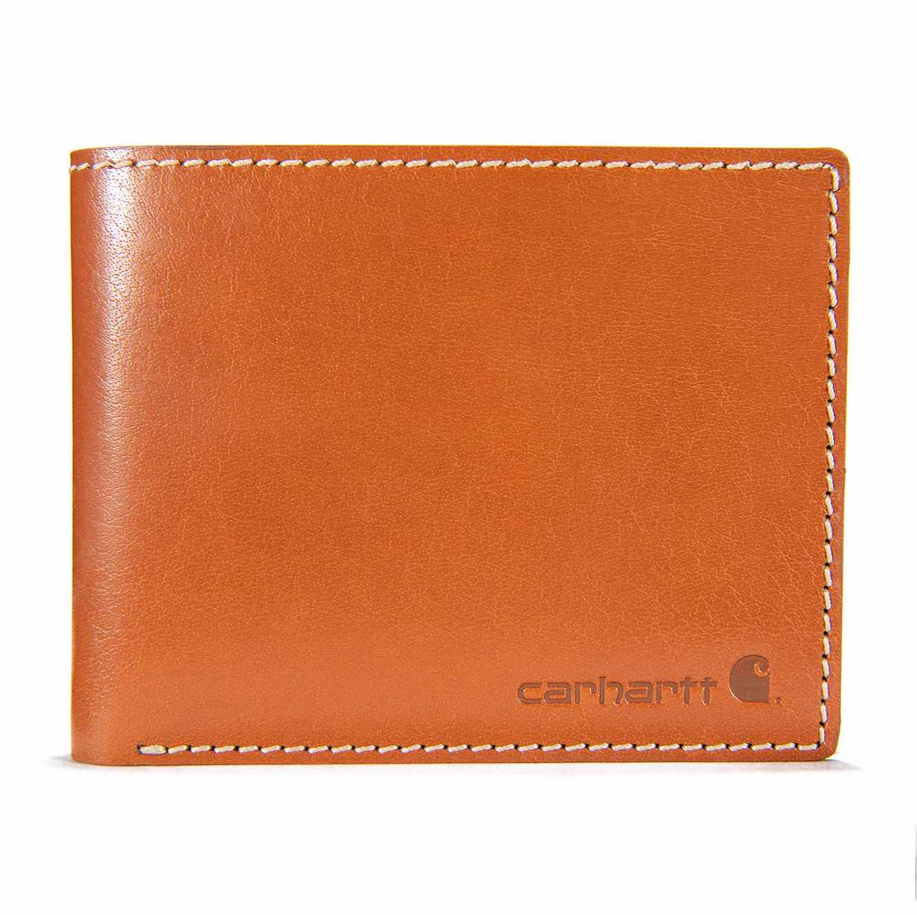 Picture of Rough Cut Bifold Wallet in Tan