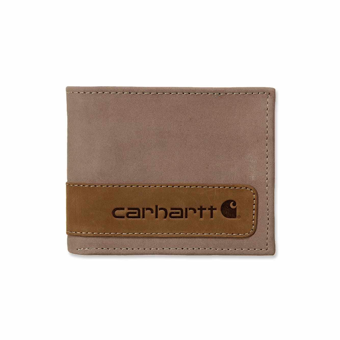Picture of Two Tone Passcase Wallet in Brown
