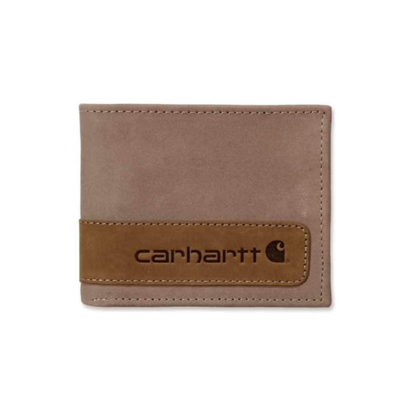 Carhartt  Brown Two Tone Passcase Wallet