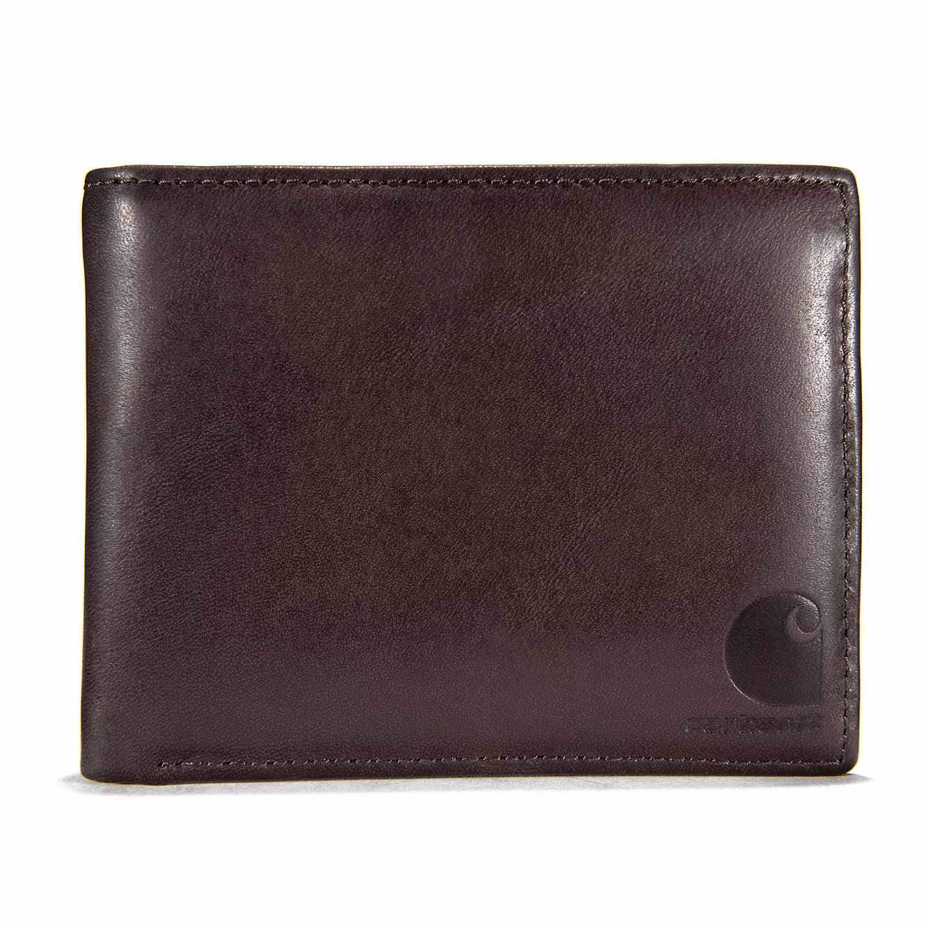 Picture of Oil Tan Passcase Wallet in Brown Oil Tanned