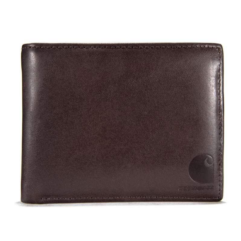 Carhartt  Dark Brown Oil Tan Passcase Wallet