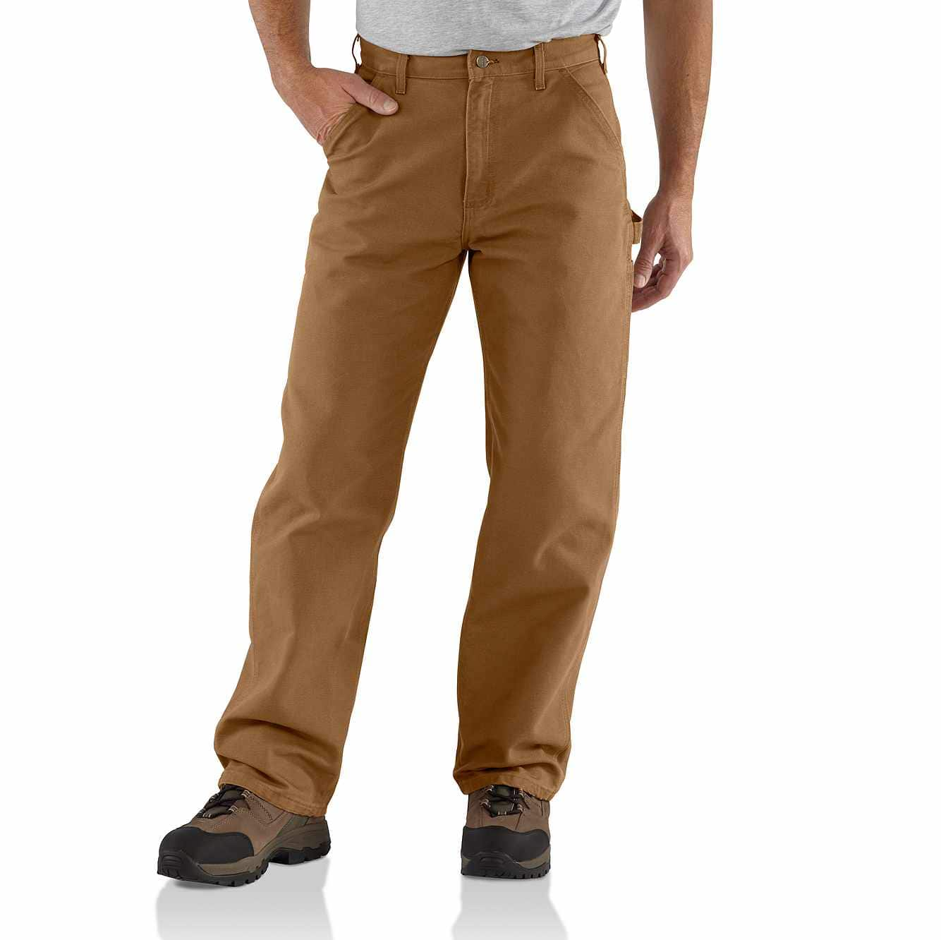 Picture of Washed Duck Work Pant in Carhartt Brown