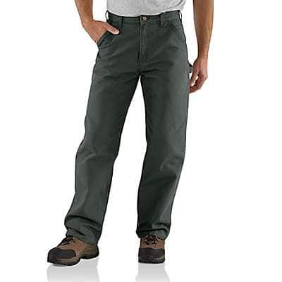 Carhartt Men's Moss Loose Fit Washed Duck Utility Work Pant