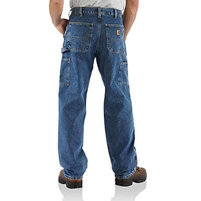 Carhartt Men's Darkstone Loose Fit Work Jean - back