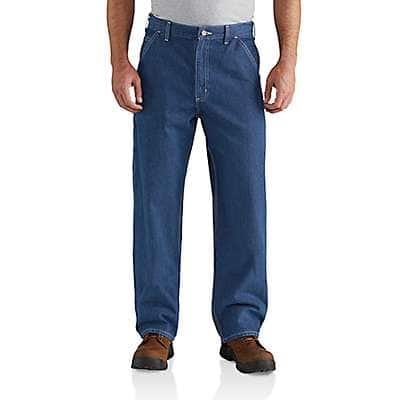 Carhartt Men's Darkstone Loose Fit Work Jean - front