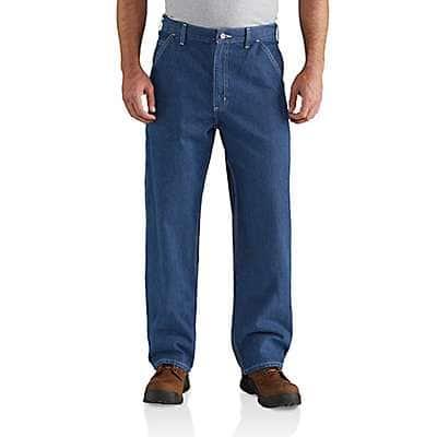 Carhartt Men's Darkstone Loose Fit Utility Jean