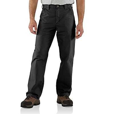Carhartt Men's Black Loose Fit Canvas Utility Work Pant