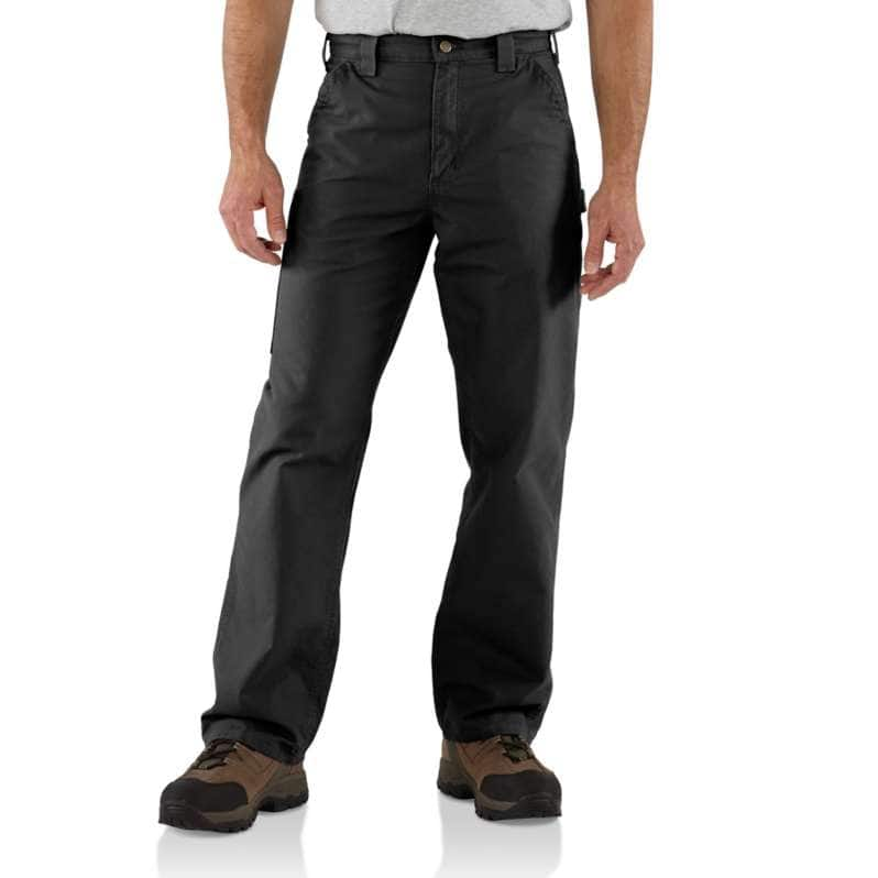 Carhartt  Black Loose Fit Canvas Utility Work Pant