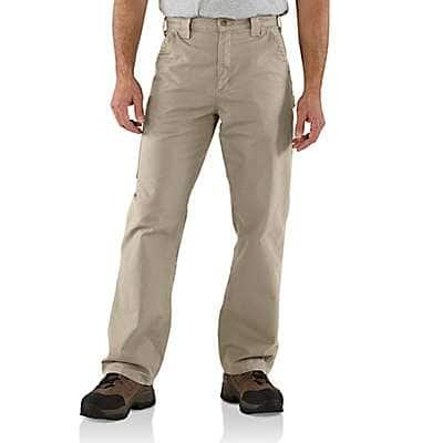 Loose Fit Canvas Utility Work Pant