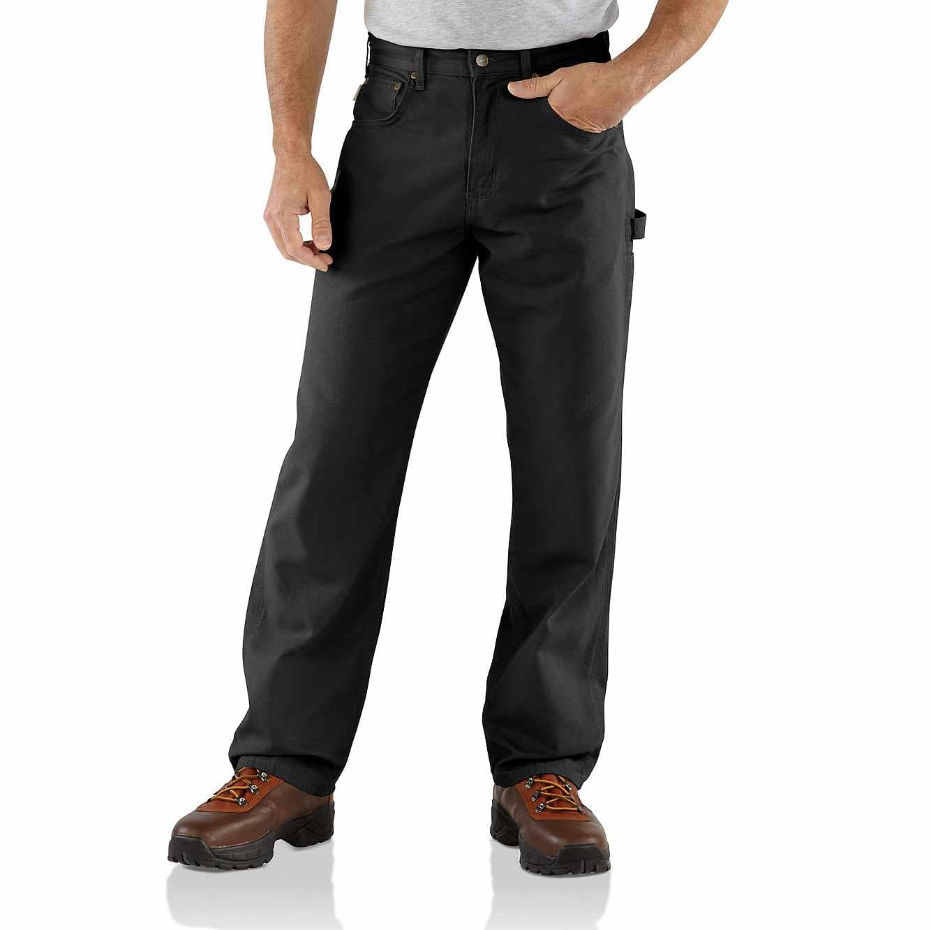 Men S Loose Fit Canvas Carpenter Pant B159 Carhartt
